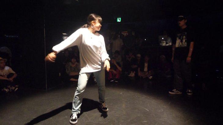 Fatsnake vs YUKIBYEOL  aka yu-ki.☆ BEST16 sweet dream POP SP!! POPPIN DANCE BATTLE