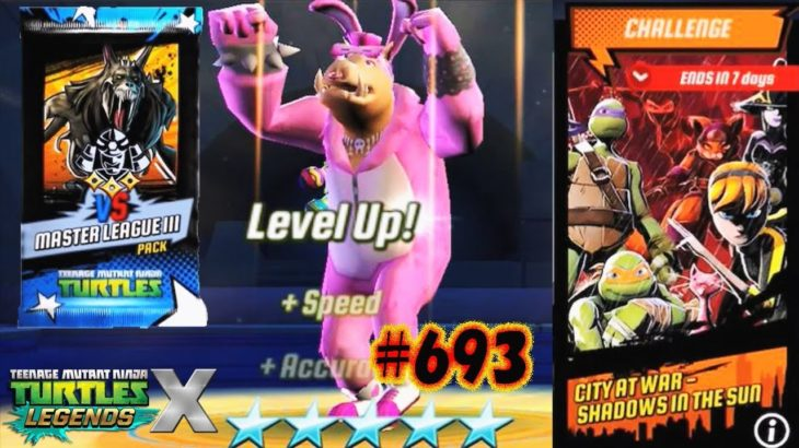 TMNT Legends – Just Want To Dance! Bunny Bebop Will Be Next Lv80 #693 (忍者神龟ミュータントタートルズ レジェンズ)