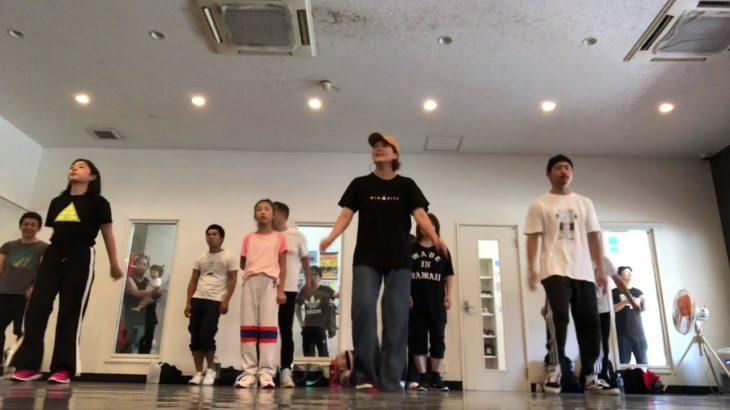 Yuri WAACK 超入門クラス street dance studio A-sh梅田