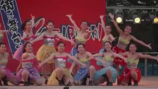ダンス八木節2018 桐女ダンス部「凰華」