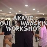 AKANE   BEBOP CREW   SOUL & WAACKING WORKSHOP @PD DANCE STUDIO
