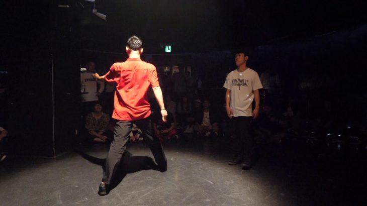 Atsuya vs Daiki ni-ni- BEST16 sweet dream POP SP!! POPPIN DANCE BATTLE