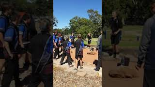 Cringey year 8s dancing to dubstep
