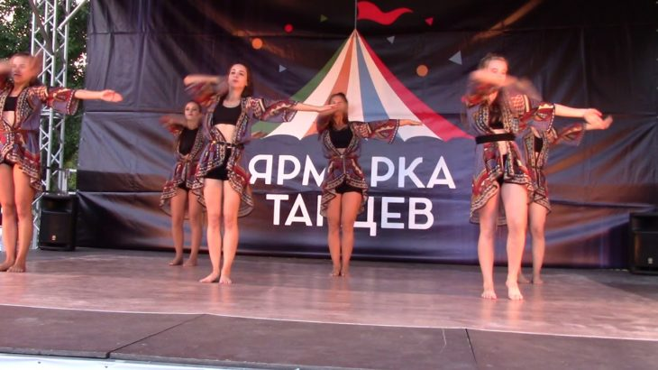 "Ярмарка танцев – школа ""DNC"", vogue / Dance fair – ""DNC"" school, vogue"