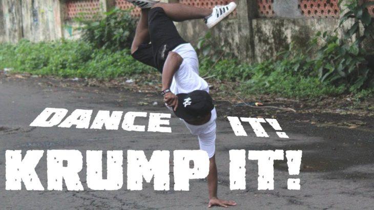 JUST KRUMP IT! KRUMPING DANCE COVER ON ISHQZAADE TITLE SONG! | PNJ Krumper