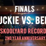Luckie vs  Bebop | Skoolyard Records 2nd Year Anniversary | 1v1 Openstyle battle | Finals