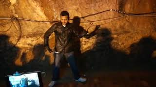 Yellow vision in khewra amazing dubstep poppin dance by Waqas Ali