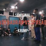 Lady BadRaw vs Spread X | Krump Semi Final | Funk N' Buck 2018