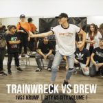 TrainWreck vs Drew (1vs1 Krump) CITY VS CITY Volume 1