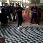 Krumping dance …