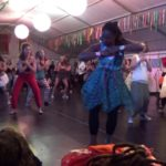 Samba reggae dance performance  – Tribe of Doris Festival 2018