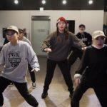 poppin dance l pop l 2017년 1월 대구댄스학원 파이브 팝핀 수업영상