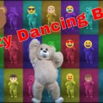 Kids Dance Along With Silly Bare Bear DUBSTEP DANCING