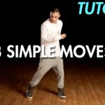 3 Simple Dance Moves for Beginners (Hip Hop Dance Moves Tutorial) | Mihran Kirakosian
