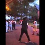 Dougie/ Jerk dance off
