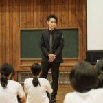 EXILE TETSUYA 長野県中学校のダンス授業を視察!!
