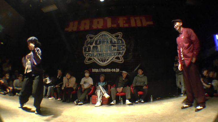HANAI vs LEE BEST8 WAACK SIDE / FUNKY CHICKEN 2016 x JADE