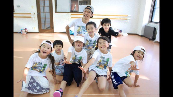 入門HIPHOPダンスレッスン|5~8歳キッズクラス