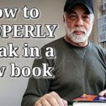 How to break in a book so it lasts a lifetime
