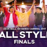 KOB vs Hanz,Waack Waack Bao,Bboy J | 3v3 All Style Finals | Aeon Mall Do Dance Carnival 2017