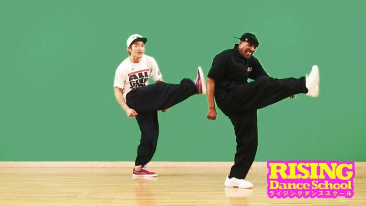 【LOCKIN'】Handkerchief Routine RISING Dance School TONY GOGO