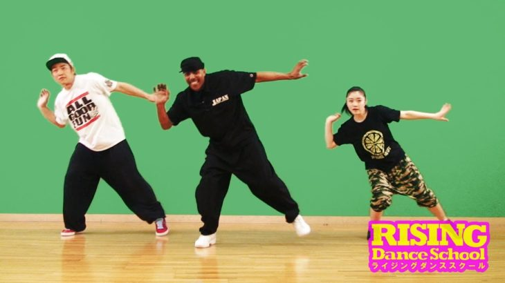 【LOCKIN'】Shuffle(middle/left/right) RISING Dance School TONY GOGO