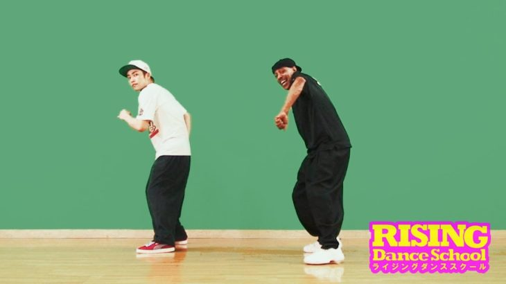 【LOCKIN'】Stop And Go Reverse Step Out RISING Dance School TONY GOGO