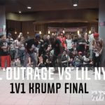 Lil Outrage vs Lil NY (1v1 Krump Final) HOT 3 Dance Battle
