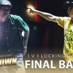 Locking Neal (KOR) vs CeeKay (SG) | 1v1 Locking Final Battle | Lockdown 2018 Singapore | RPProds