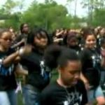 Michelle Obama Dances 'The Dougie'   'The Running Man' At Alice Deal Middle School (VIDEO).mp4