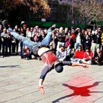 Nice Break Dance Performance in Europe.