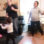 Teach how to Dougie Buntis Dance Ng toddler!   FILIPINA AMERICAN FAMILY IN VEGAS