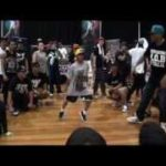 kid krumping at the adult division