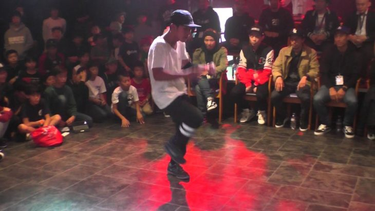 Shigekix vs ツキ BEST4 / BREAK DANCE DREAM CUP 2015