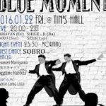 Bebop Dance Event & Jazz Live – BLUE MOMENT vol.1   2016/01/22