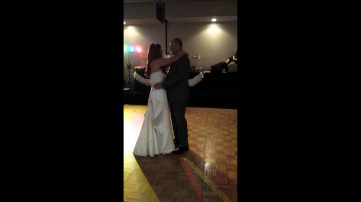 Father daughter wedding dance dougie