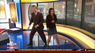 Good Day Anchors Do The Dougie!