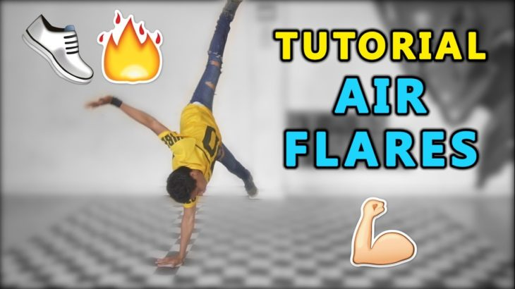 How to Air Flares Air Tracks Break Dance en Español Tutorial Tomas Power Move || Dance On Fire