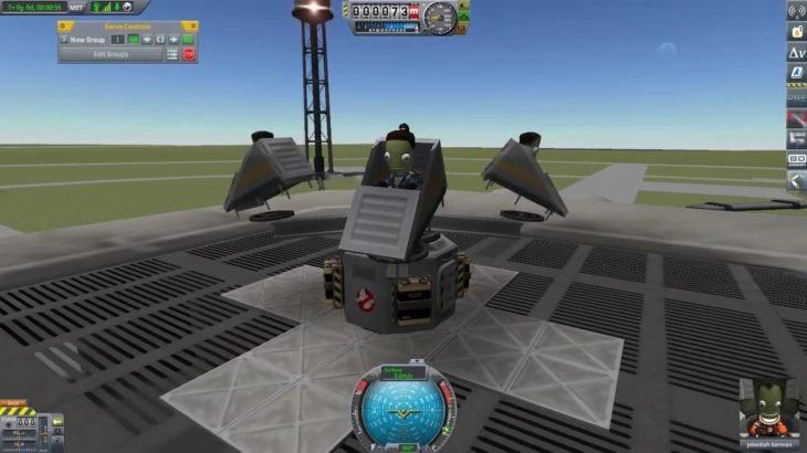 KSP Break Dance test