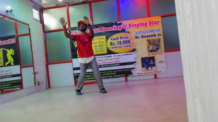Sajde song dance krump art of Style Uttarakhand dancing star audition