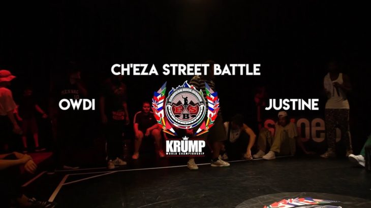 Owdi VS Justine | HIPHOP 1/4 | EBS BELGIUM KRUMP QUALIFIER 2019