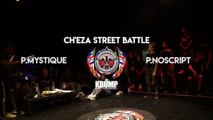 Princess Mystique VS P.NoScript | Krump Semi Final Female | EBS BELGIUM KRUMP QUALIFIER 2019