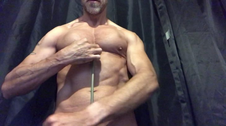 ASMR RAPID HEARTBEAT 💗 with posedown flexing and pec dancing!!!