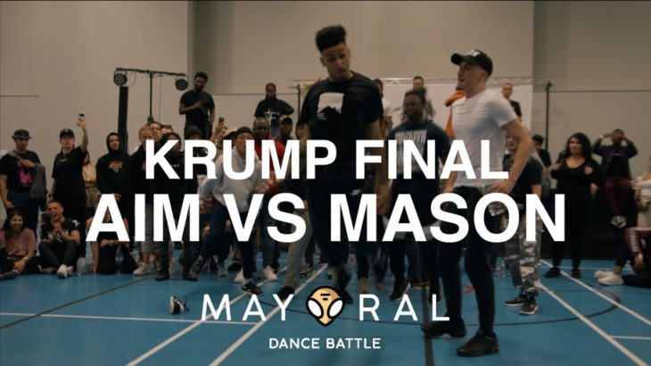 Aim vs Mason | Krump Final | Mayoral Dance Battle 2019
