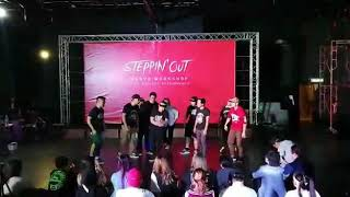 Maniax aka Lil Watcher , Steppin Out Dance workshop 2019 KRUMP Showcase round