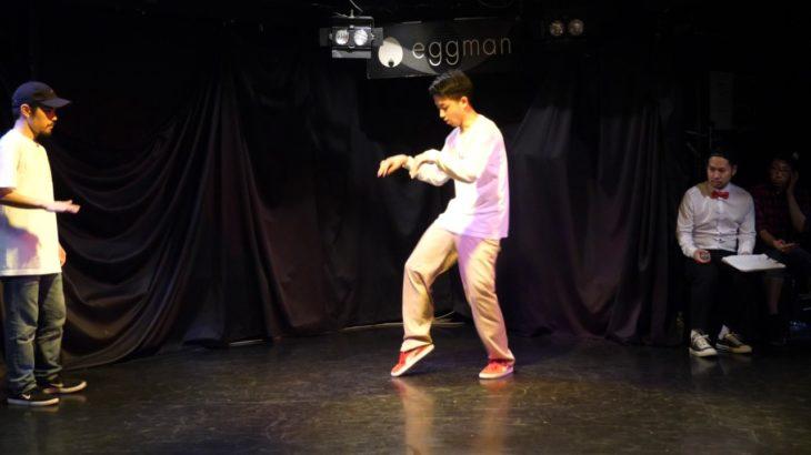 No-ri- vs taichi BEST8 sweet dream POP SP!! POPPIN DANCE BATTLE 17/6/20
