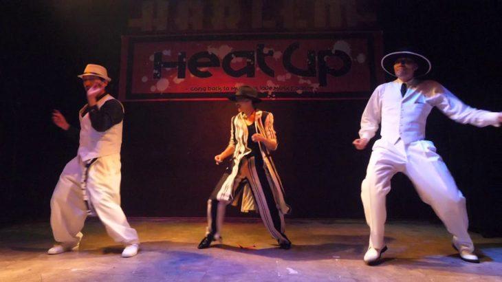 EIJI+MIZUKI(Be Bop Crew Gang)+KIN HEAT UP vol.44 DANCE SHOWCASE