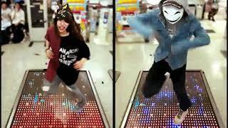 【ダンスラッシュ】鹿児島県の仮面女子とGHOST KINGDOM ! #DANCERUSH_STARDOM
