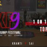 Kranti vs Sai | Girls 1v1 Top 6 | Indian Krump Festival 9 2019 | TheVerb Official
