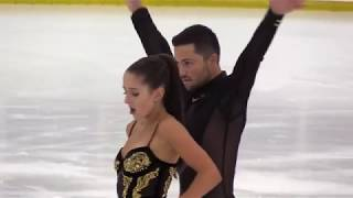 Lilah FEAR & Lewis GIBSON GBR Free Dance VOGUE 2019 Autumn Classic International